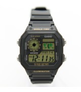 Casio AE-1200WH-1B Watch